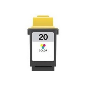 CARTUCHO DE TINTA COMPATIBLE LEXMARK Nº 20 - COLOR